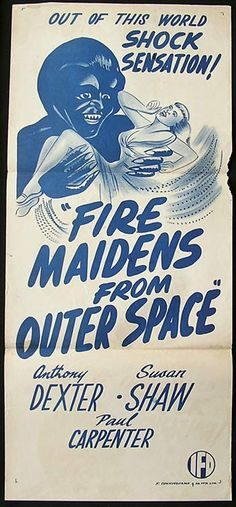 Fire Maidens From Outer Space (1956) via Australia
