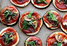 Eggplant Pizza... this is happening tonight! Update: This did happen tonight and it was DELICIOUS!! Teresa