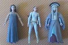 STAR WARS Evolutions PADME AMIDALA Legacy Action Figure Lot-RARE & COLLECTIBLE ! #Hasbro