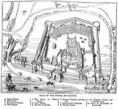 Tower of London Plan 1597