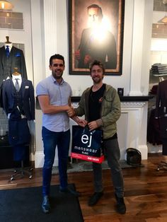 Keepin' it local!! EJ Menswear is proud to support talented local musicians such as Dean Gurrie!! If you're heading to Sea Sessions next weekend be sure to make your way to the main stage on Saturday evening to check out Dean and full band entertaining the lucky festival goers! EJ Menswear, supporting local, homegrown music since 1994.