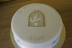 Boys Confirmation Cake on Cake Central