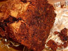 Schokoladen-Bananen-Walnuß-Kuchen