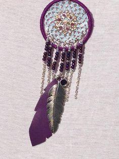 sautoir capteur de rêves, Fait-main par pastelymacaron dans la catégorie Bijoux/Colliers. Situé à Arles, France