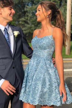 /collections/prom-dresses-1 Cute Homecoming Dresses, Pretty Prom Dresses, Freshman Homecoming Dresses, Sexy Dresses, Short Formal Dresses, Junior Prom Dresses Short, Summer Dresses, Dress Prom, 8th Grade Formal Dresses