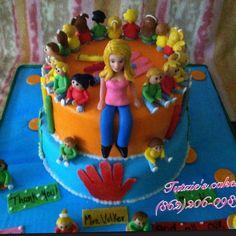 Kinder class cake