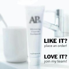 Our best selling whitening toothpaste has no bleach or harsh abrasives Nuskin Toothpaste, Ap 24 Whitening Toothpaste, Nu Skin, Beauty Make Up, Beauty Care, Beauty Tips, Beauty Ideas, Beauty Secrets, Dark Eye Circles