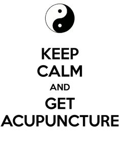 Acupuncture today, can't wait!  I feel so much energy and tension relief from once a month treatment :-)