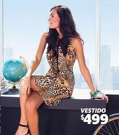 Vestido a sólo $499 pesos, en C&A.