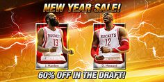 For a Limited Time the Mythic J Harden and D Howard Drafts are 60% Off! Good Luck Drafting!