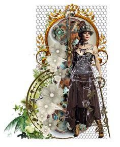"""Leila"" by jojona-1 ❤ liked on Polyvore featuring art"