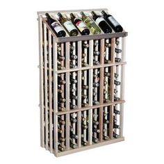6 Column Wine Bottle Rack