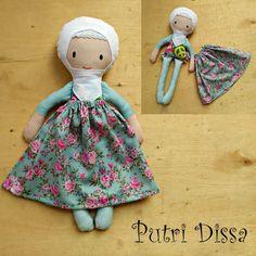 Buatan Tsabita Boneka: Desain Terbaru ...Boneka Muslim dari Katun