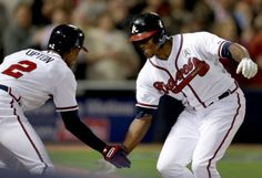 Braves hit 3 homers off Hamels, beat Phillies 7-5  The Upton brothers