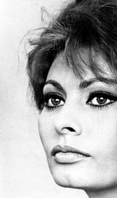 Sophia Loren #Vintage #Style #Beauty