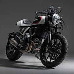 Racing Cafè: Ducati Scrambler by Skunk Machine