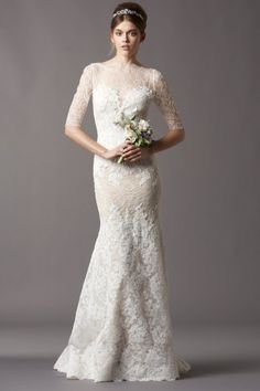 The Watters Kerry gown has a Grace Kelly feel to it - Here at Mia first for the Watters trunk show Aug 8-10 and coming soon to the store to stay!