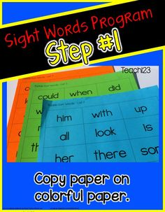 Great RTI system that includes documentation, parent involvement, weekly progress reports, and keeps the students engaged. I loved the amount of progress my students made after I began this sight word system. It is EDITABLE too so you can personalize it to fit the needs of your students. paid