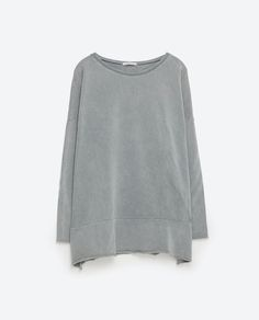 Image 8 of OVERSIZED SWEATSHIRT from Zara