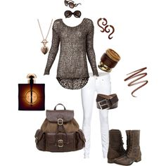 outfit, created by roz-harman on Polyvore