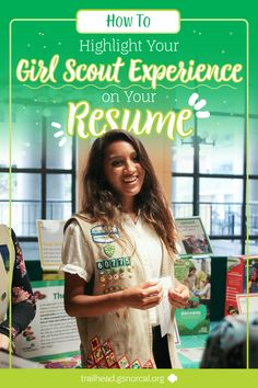 Creating your first resume is tough,whether it's for a job, for aninternship, or for school. Scout Mom, Daisy Scouts, Girl Scout Swap, Girl Scout Leader, Girl Scout Troop, Brownie Girl Scouts, Cadette Girl Scout Badges, Girl Scout Silver Award, Les Scouts