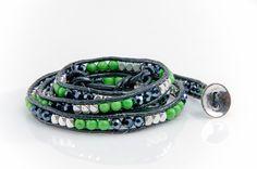 Seattle Seahawks Navy Blue Wrap Bracelet – Myteamwraps