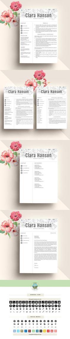 creative resume template cv professional - Template Professional Resume