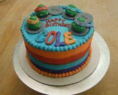 Cowabunga!  Ninja Turtles cake