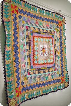 Baisakhi Medallion Quilt, via Flickr.