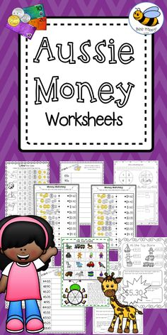 Free online australian money worksheets
