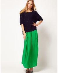 Whistles | Whistles Rosa Maxi Skirt | Lyst