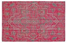 Medina Rug, Pink - Rugs Under $400 - Affordable Finds - Sale | One Kings Lane