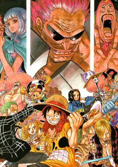 Post with 3568 views. One Piece Colour Walk 7 Anime One Piece, One Piece Z, One Piece Series, One Piece World, Luffy X Nami, Roronoa Zoro, Tony Chopper, Manga Anime, Gaspard