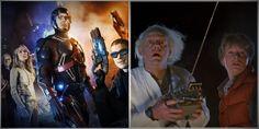 Le trailer de Legends of Tomorrow, la nouvelle série TV de DC Comics, qui sera diffusée sur CW, vient de sortir mais on se croit dans Retour vers le futur.