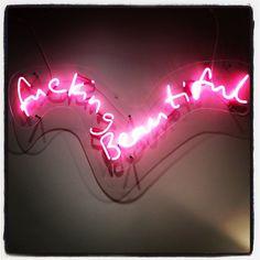 Tracy Emin, Groucho Club art