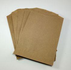 Brown Kraft Bags - Set of 20