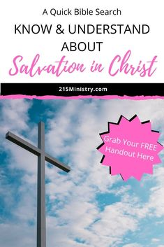 Let me show you that in understanding salvation, you need to hear about the One who provides salvation. Once you have heard the Gospel message, then you are able to complete the next steps. It's kind of like 'informed consent' and it allows your decision to be sincere. #salvation #gospelmessage #gospel #JesusChrist #Bible