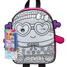 ALEX Toys Color a Bag  Accessories Color a Cutie Backpack *** Find out more about the great product at the image link.-It is an affiliate link to Amazon.