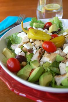Mediterranean Chopped Salad on MyRecipeMagic.com