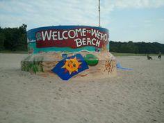 Weko Beach in Bridgman, MI
