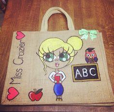 Teacher jute bag