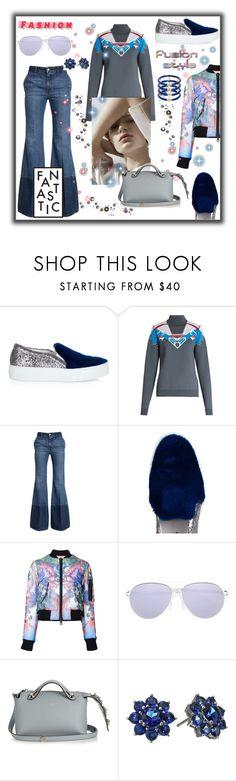 """Fantastic fashion"" by zabead ❤ liked on Polyvore featuring Joshua's, Peter Pilotto, Alexander McQueen, Prada, Dsquared2, Mykita, Fendi, Nina and Elizabeth and James"