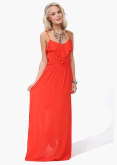 Bon Fire Maxi Dress