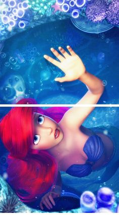 If The Little Mermaid had been done in 3D animation I think Disney should do this with all their movies that wasn't in 3D and just have a photo of the most famous scene of that movie.
