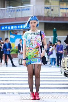 sea punk, a microculture Japanese Street Fashion, Tokyo Fashion, Harajuku Fashion, Kawaii Fashion, Grunge Fashion, Korean Fashion, Harajuku Style, Gyaru, Tokyo Street Style