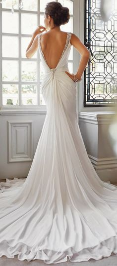Sophia Tolli Fall 2014 Bridal Collection | bellethemagazine.com