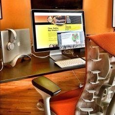 My workstation at Makespace / Oohology. Http://Makespacelab.com