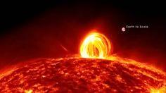 Explosión en el sol...