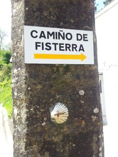 Camino de Fisterra - and on to the coast and the end of the earth..