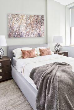 A simple and modern bedroom. I Décor Aid I